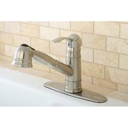 Eden Satin Nickel Pullout Kitchen Faucet