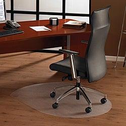 Floortex Cleartex Ultimat Contoured Chair Mat. (39 x 49) for Hard Floor