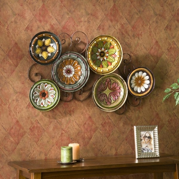 Upton Home Forli Scattered 6-piece Italian Plates Wall Art Set