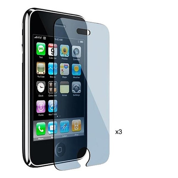 INSTEN Clear Screen Protector for Apple iPhone 3G/ 3GS (Pack of 3)