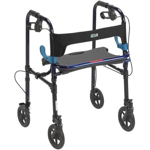 Drive Deluxe Adult Clever Lite Rollator Walker