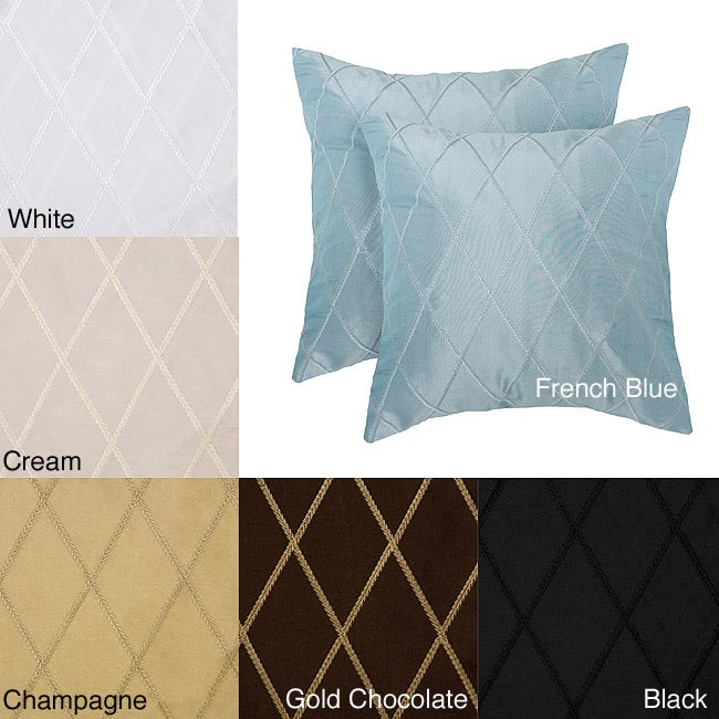 Bougival 18-inch Decorative Pillows (Set of 2)