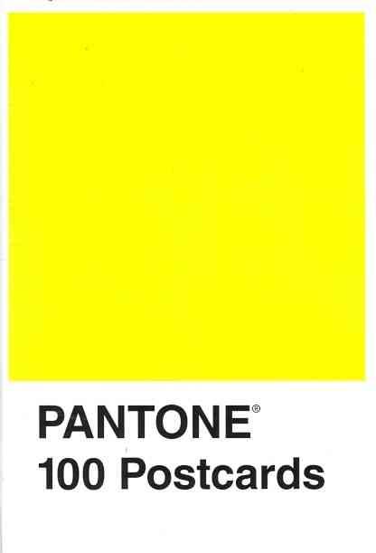 Pantone 100 Postcard (Postcard book or pack)