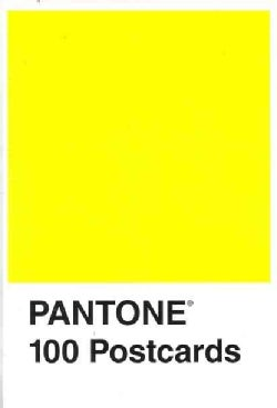 Pantone 100 Postcard (Postcard book or pack)