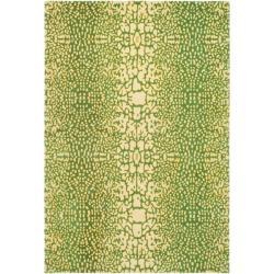 Handmade Thom Filicia Senica Maize N.Z. Wool Rug (9' x 12')