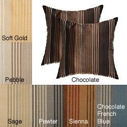 Jaipur Stripe Decorative Pillows (Set of 2)