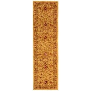 Safavieh Handmade Mahal Ivory Wool Runner (2'3 x 12')