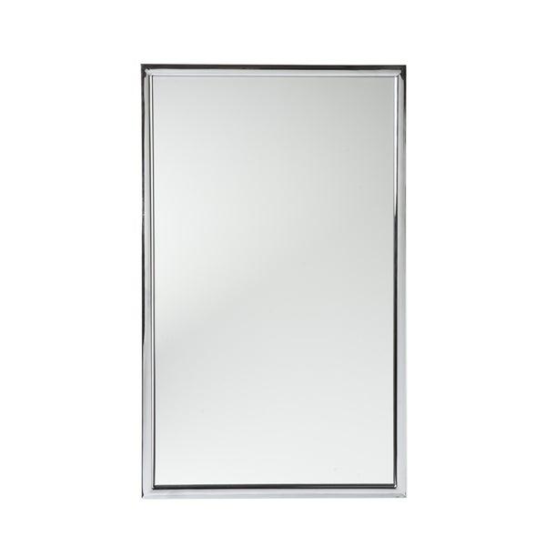 Upton Home Elton Chrome Wall Mirror