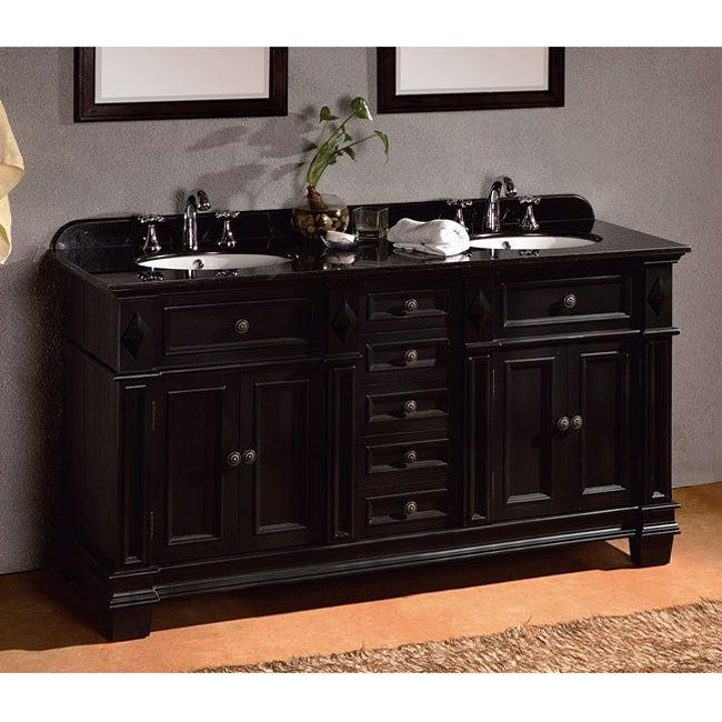 Eliza Granite Double Vanity By Ove Decors