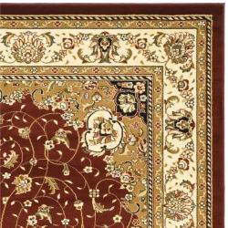 Safavieh Lyndhurst Collection Red/ Ivory Rug (9' x 12')
