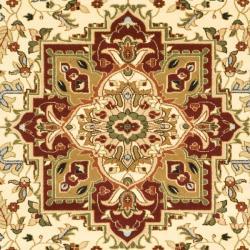 Safavieh Lyndhurst Collection Ivory/ Red Rug (9' x 12')