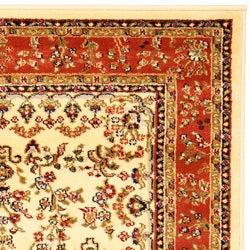 Safavieh Lyndhurst Collection Ivory/ Rust Rug (9' x 12')