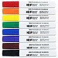 Eberhard Faber Water-based Chisel-tip Markers (Pack of 8)
