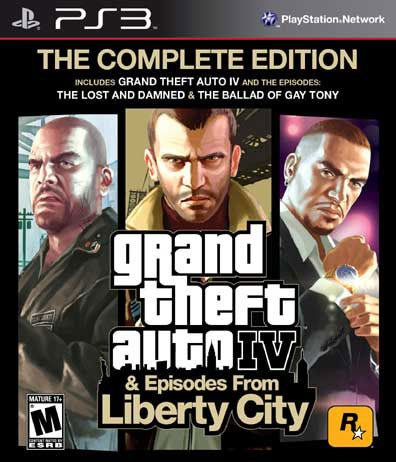 PS3 - Grand Theft Auto IV: Complete