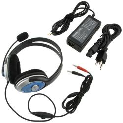 INSTEN Travel Charger/ Hands-free Stereo Headset for HP Pavilion/ Compaq