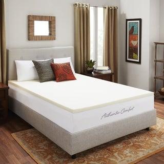 Dream Form Ventilated 2-inch Memory Foam Mattress Topper