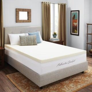 Dream Form Ventilated 3-inch Memory Foam Mattress Topper