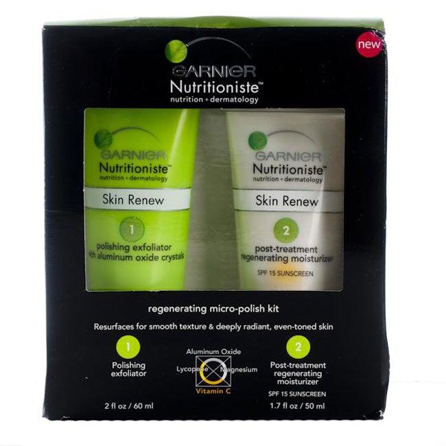 Garnier Nutritioniste Regenerating Micro-Polish Kit (Pack of 4)