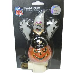 New Orleans Saints Halloween Ghost Night Light