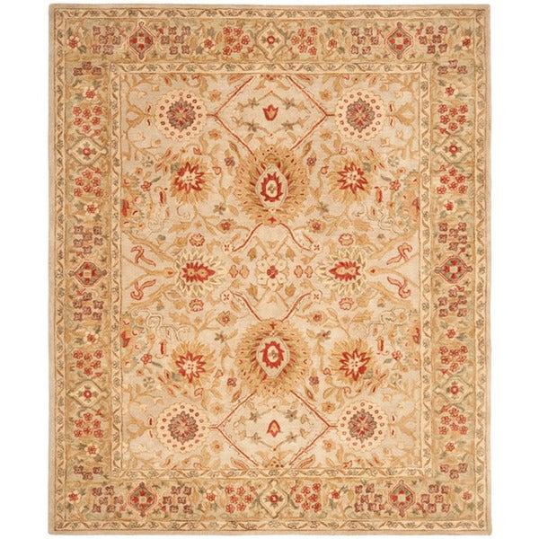 Safavieh Handmade Mahal Ivory Wool Rug (9' x 12')