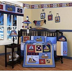 Sailor 13-piece Crib Bedding Set