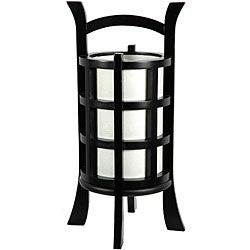 Mahogany Wood 18-inch Kharbarosk Lamp (China)