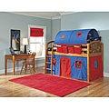 VP Home Lowell Junior Loft Honey Birch Twin Loft Bed