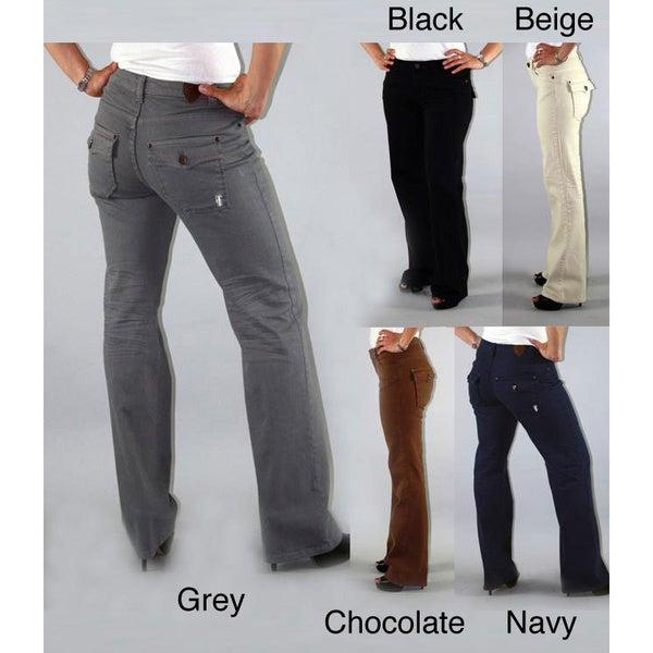 Institute Liberal Women's Stretch Twill Bootcut Pants
