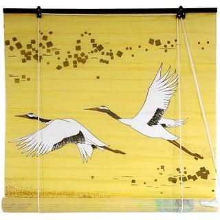 Rice Paper 36-inch Cranes Shoji Blinds (China)