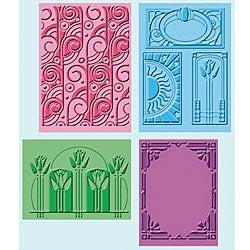 Provo Craft Cuttlebug Art Deco Embossing Folders (Pack of 4)