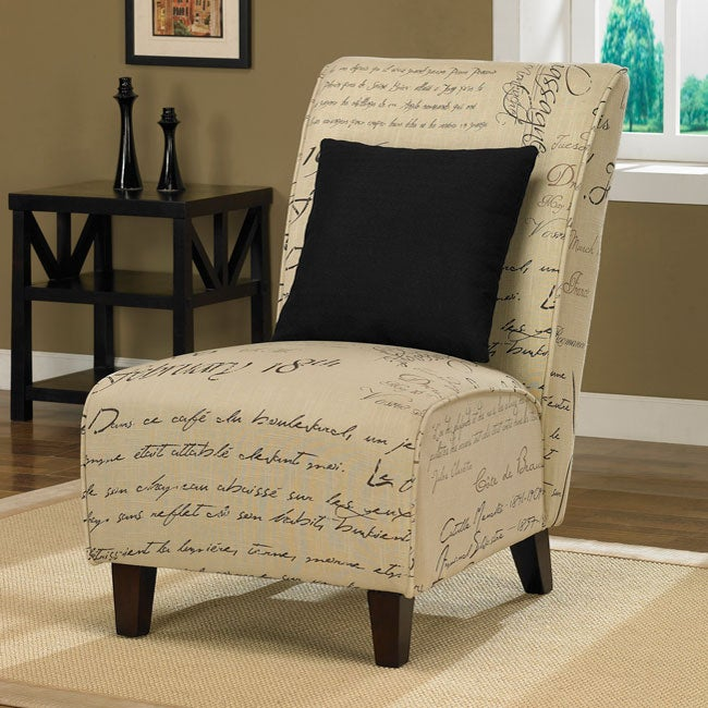 Tapered Signature Chair with Pillow
