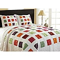 Arabesque Reversible Quilt 3-piece Set