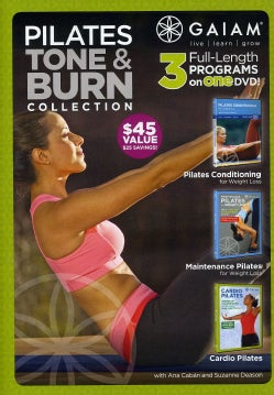 Pilates Tone & Burn Collection (DVD)