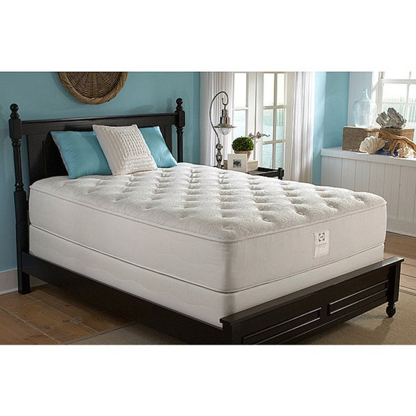 Sealy Comfort Series Cape Francis Plush California King-size Mattress Set