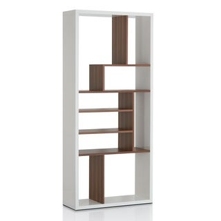 Furniture of America Bart Multi-tiered Modern Display Bookshelf