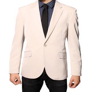 Ferrecci Men's Beige Slim Fit Sportscoat