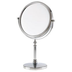 Danielle 1x-10x Chrome Sculpted Stem Vanity Mirror