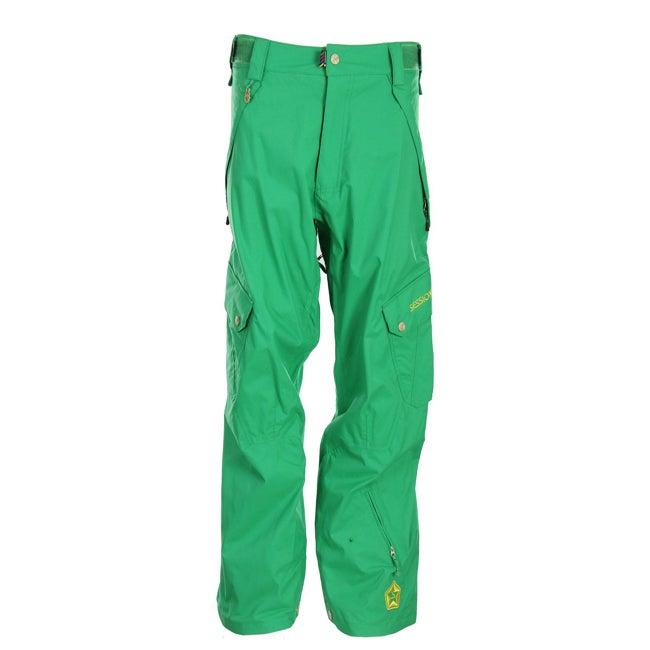 Sessions Men's 'Gridlock' Turf Green Snowboard Pants