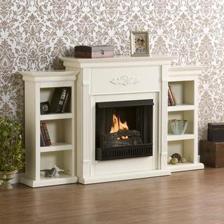 Upton Home Dublin Ivory Gel Fireplace