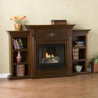 Upton Home Dublin Espresso Gel Fireplace