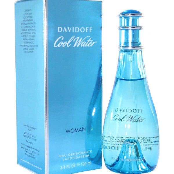 Davidoff Cool Water Women's 3.4-ounce Eau Deodorant Spray