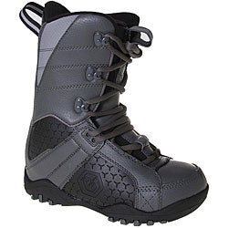 LTD Classic Boy's Grey/ Black Snowboard Boots