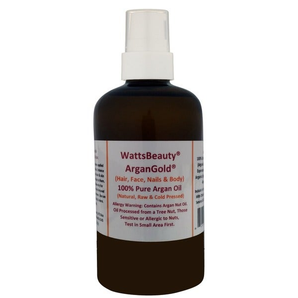 Watts Beauty ArganGold 4-ounce 100-percent Certified Pure Argan Oil