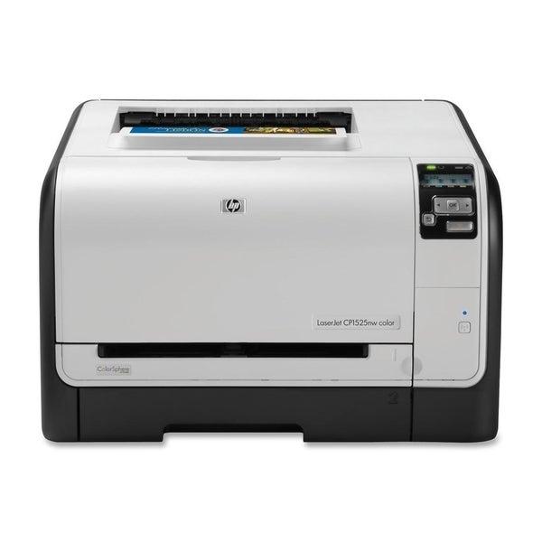 HP LaserJet Pro CP1525NW Laser Printer - Color - 600 x 600 dpi Print