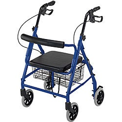 Ultra Lightweight Royal Blue Hemi Aluminum Rollator