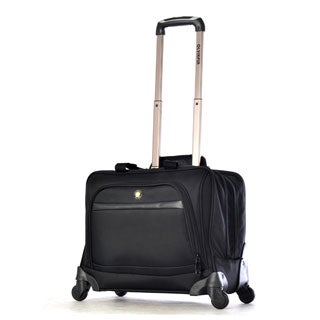 Olympia Hover Deluxe 15-inch Laptop Carry On Spinner Overnight Business Tote