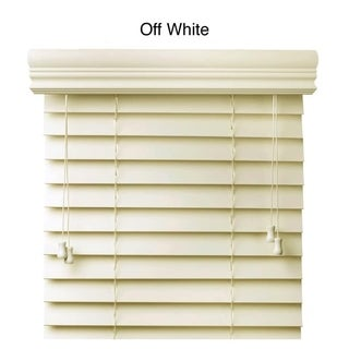 Faux Wood 37-inch Blinds
