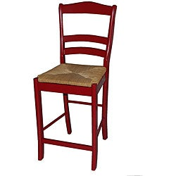 Simple Living Parker Red 24-inch Stool