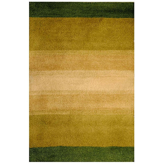 Hand-tufted Indo Multi-color Wool Rug (4' x 6')
