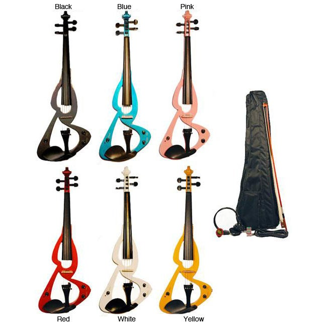 Full-size Wood Electric Violin